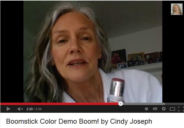 Boomstick Color Demo BOOM by Cindy Joseph   Cindy joseph. Boom by cindy. Joseph