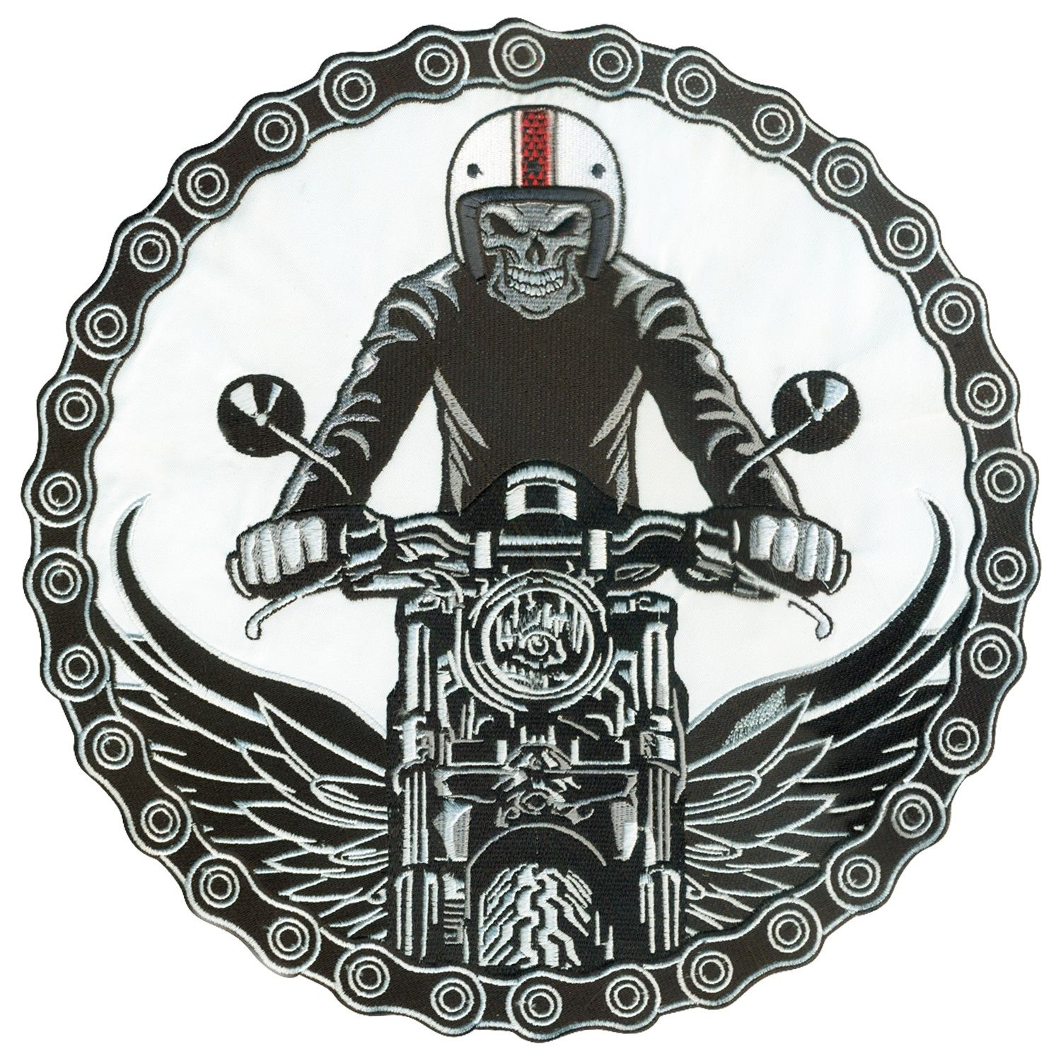 If you really want to know Iron on Small Patch for Motorcycle Biker Vest S