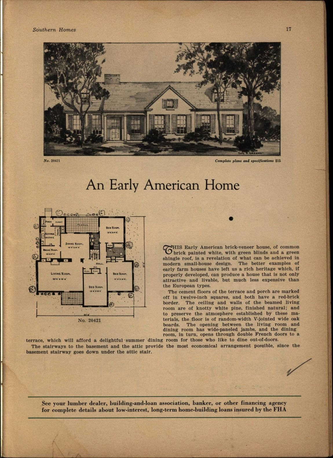 Holland S House Plans Holland S Magazine Free Download Borrow And Streaming Internet Archive House And Home Magazine House Plans Vintage House Plans