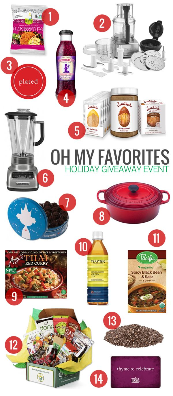 Oh My Favorites Holiday Giveaway Event! Holiday