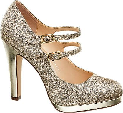 Pumps von Catwalk in gold DEICHMANN
