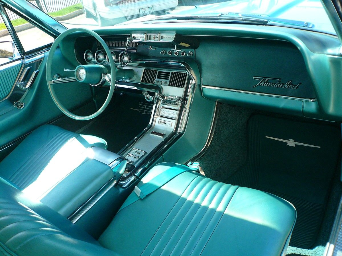 1964 Thunderbird Interior 1964 Ford Thunderbird Driving 15