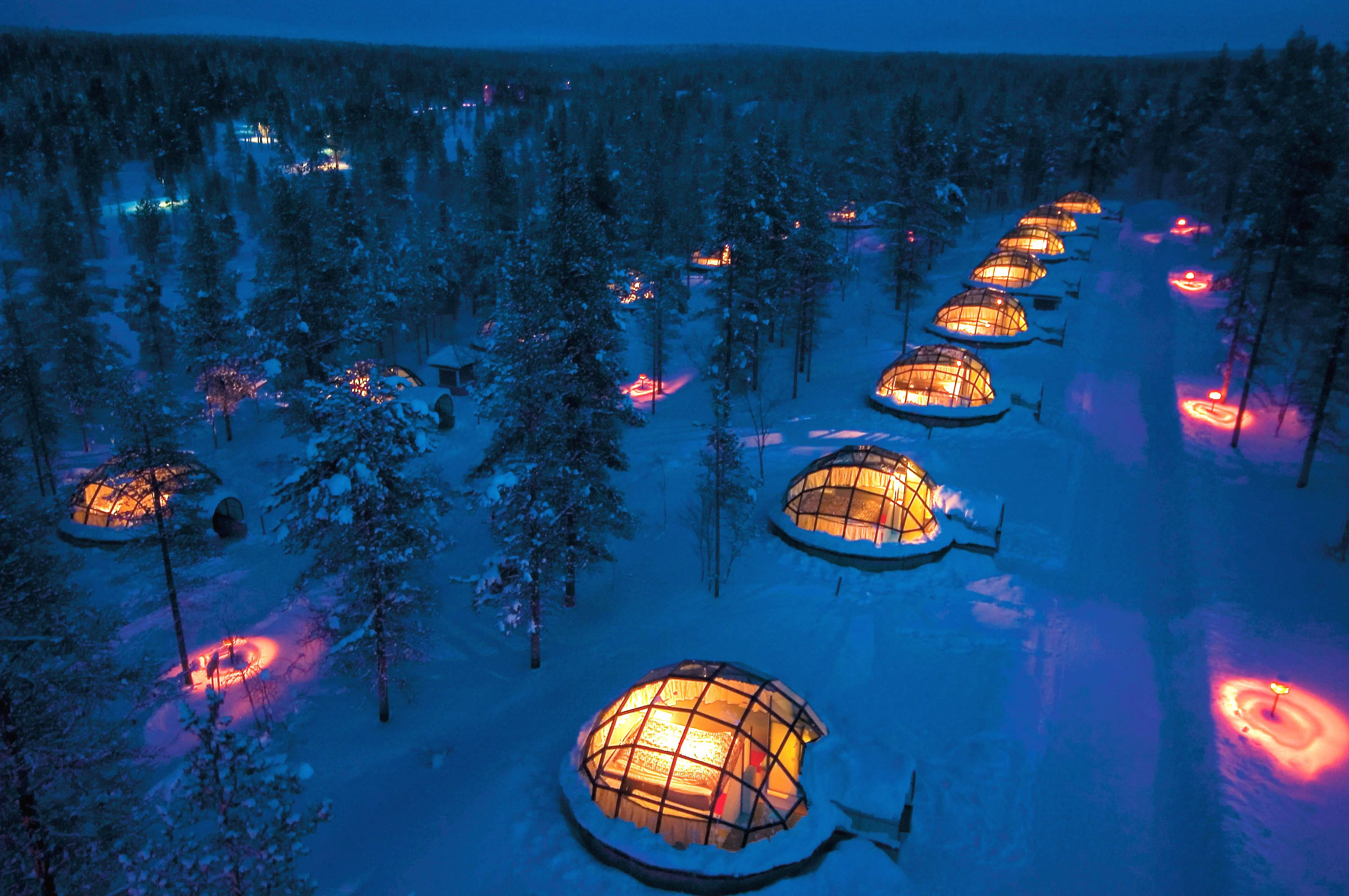 Stay In Igloo Hotel Village Kakslauttanen