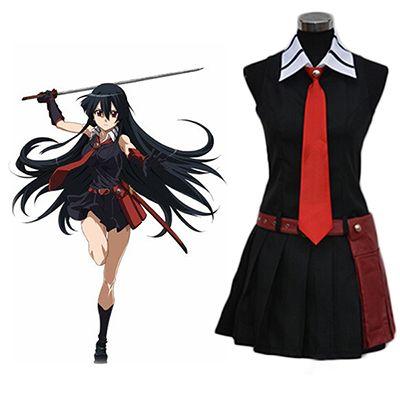 Akame ga Kill Night Raid Akame Cosplay Costume   Akame cosplay, Cosplay costumes, Anime inspired outfits