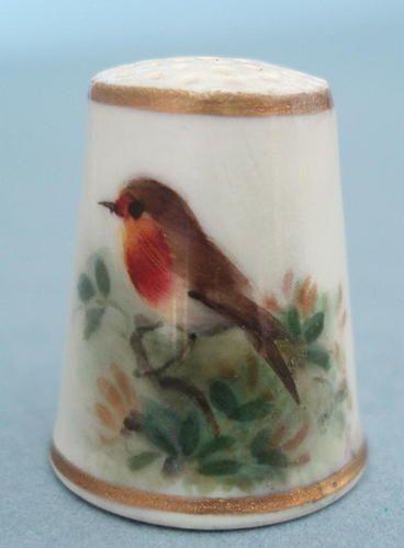 Royal Worcester Bird Thimble by Powell Robin C1930 | eBay Jul 26, 2013 / GBP 119.29