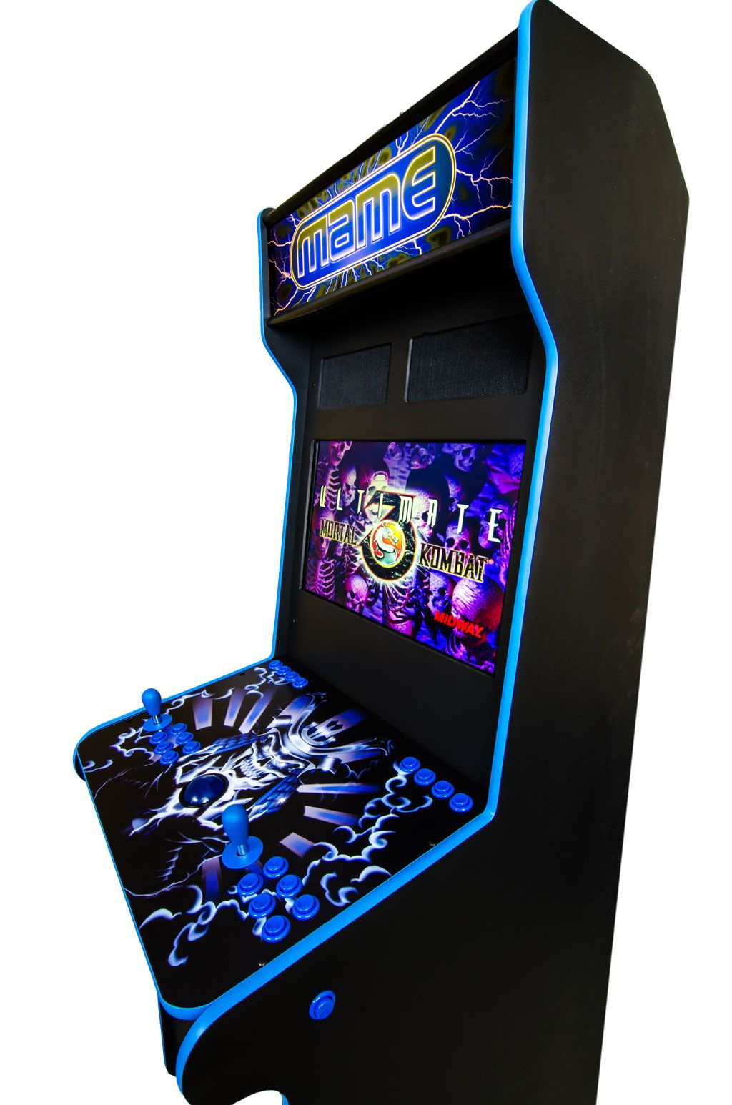mame cabinet theme - Google Search   Arcade cabinet inspiration ...