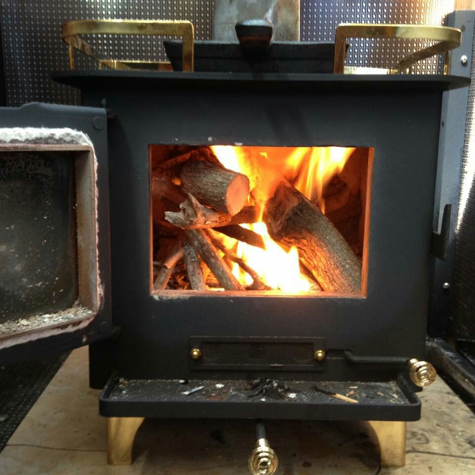 Beautiful cubic grizzly wood stove | Cubic Mini Wood Stove ...