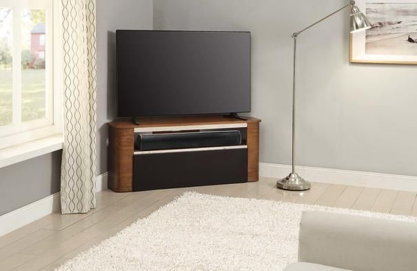 Jual Modern Acoustic Corner Tv Stand Walnut Jf708 Tv Stand With