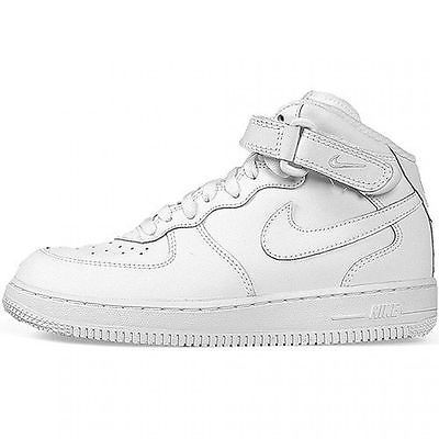 reputable site 12202 543cf Nike Air Force 1 Mid Ps Little Kids 314196-113 White Shoes Sneakers Youth  Size 1