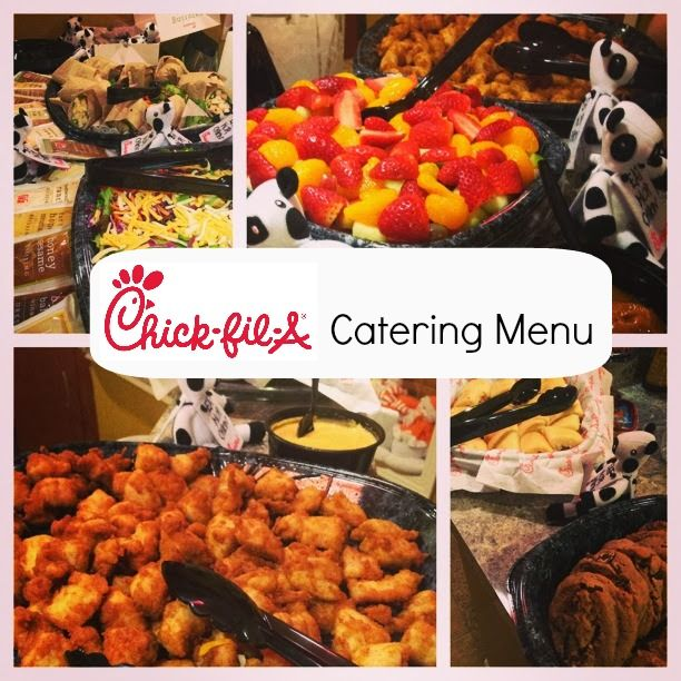 Chick-fil-A Catering Menu | Catering menu, Catering and Wedding