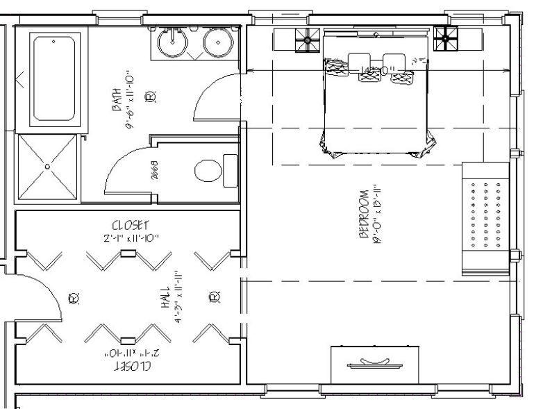 Dormitorios Con Vestidor Y Bano En Suite Planos De Dormitorios