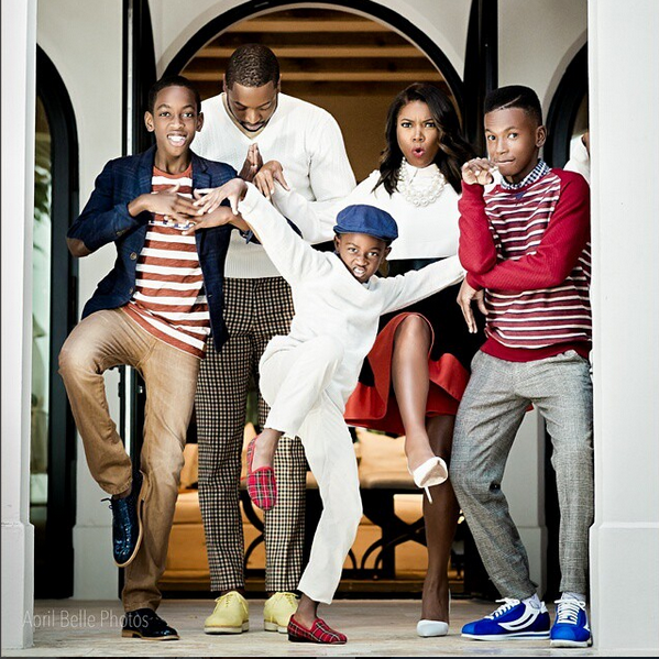 Dwyane Wade and Gabrielle Union are raising his two sons and his