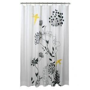 Anis Yellow Shower Curtain By Blissliving. Blissliving Home Fashion.