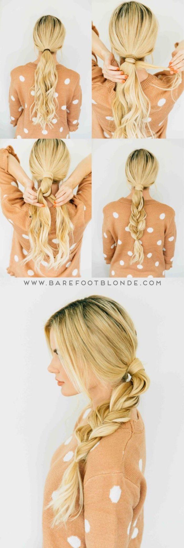 tutos et idées de coiffure facile à faire soimême