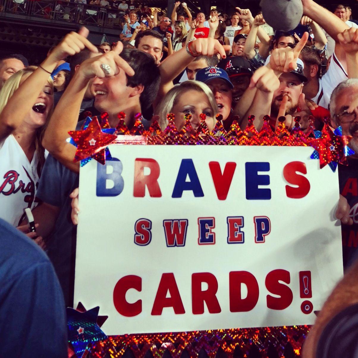 Sweep Atlanta Braves Baseball Atlanta Braves Braves