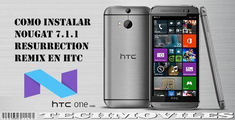 Como instalar Nougat 7.1.1 Resurrection Remix en HTC One M8