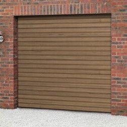 Cardale Steeline Mini Roller Garage Door (Woodgrain Laminate) & Cardale Steeline Mini Roller Garage Door (Woodgrain Laminate ...