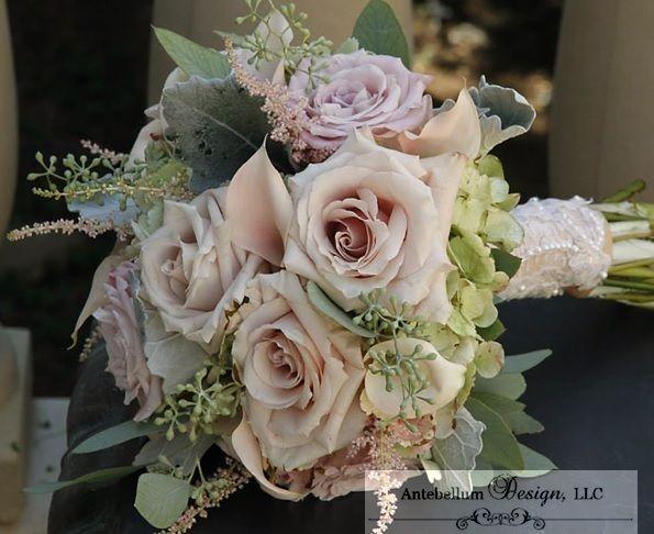 Faith Roses And Seeded Eucalyptus Dallas Wedding Flowers