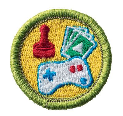 Game Design Merit Badge for Boy Scouts Boy Scout Merit Badges