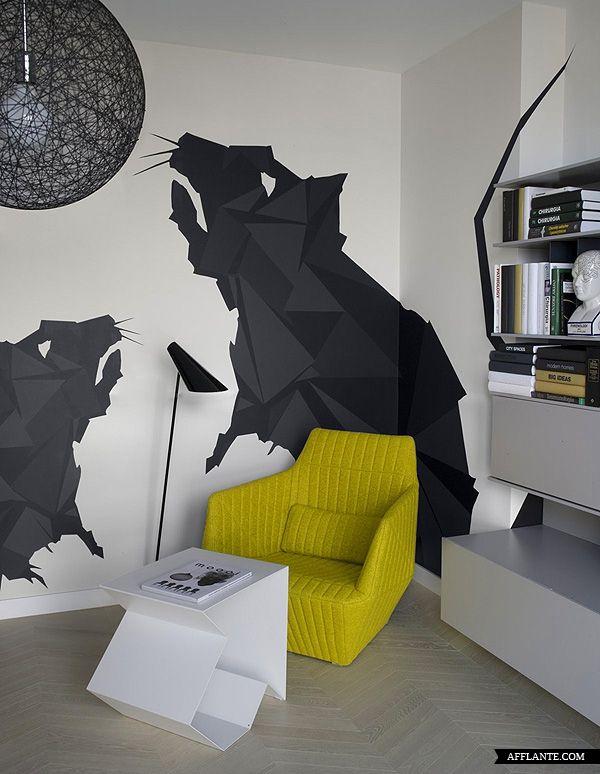 Apartment in Krakow // Morpho Studio | Afflante.com