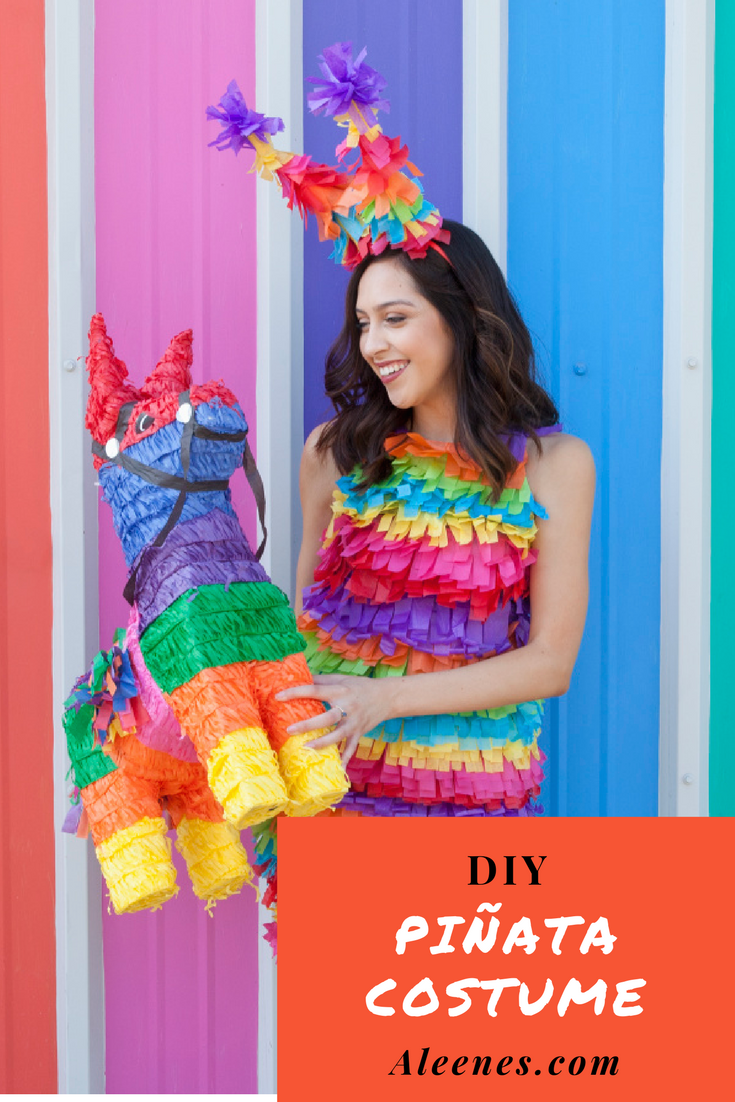 show details for diy pinata costume | clothes n' things | pinterest