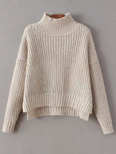 GET $50 NOW   Join Zaful: Get YOUR $50 NOW!http://m.zaful.com/chunky-mock-neck-sweater-p_248315.html?seid=1543626zf248315