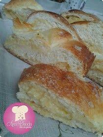 Pão doce caseiro de coco