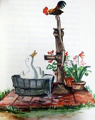 March House Books Blog: Book of the week - Biggity Bantam illustrated by Tasha Tudor