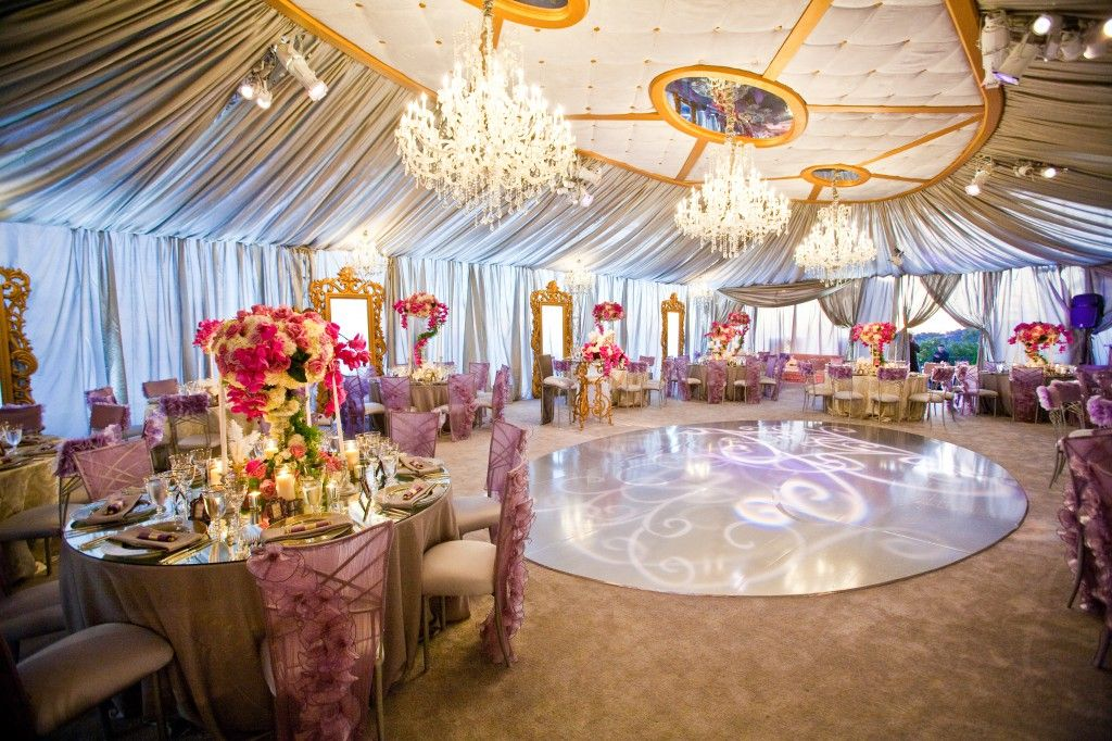 Tented Reception with Dance Floor #outdoorwedding #weddingreception #weddinginspiration & Tented Reception with Dance Floor #outdoorwedding ...