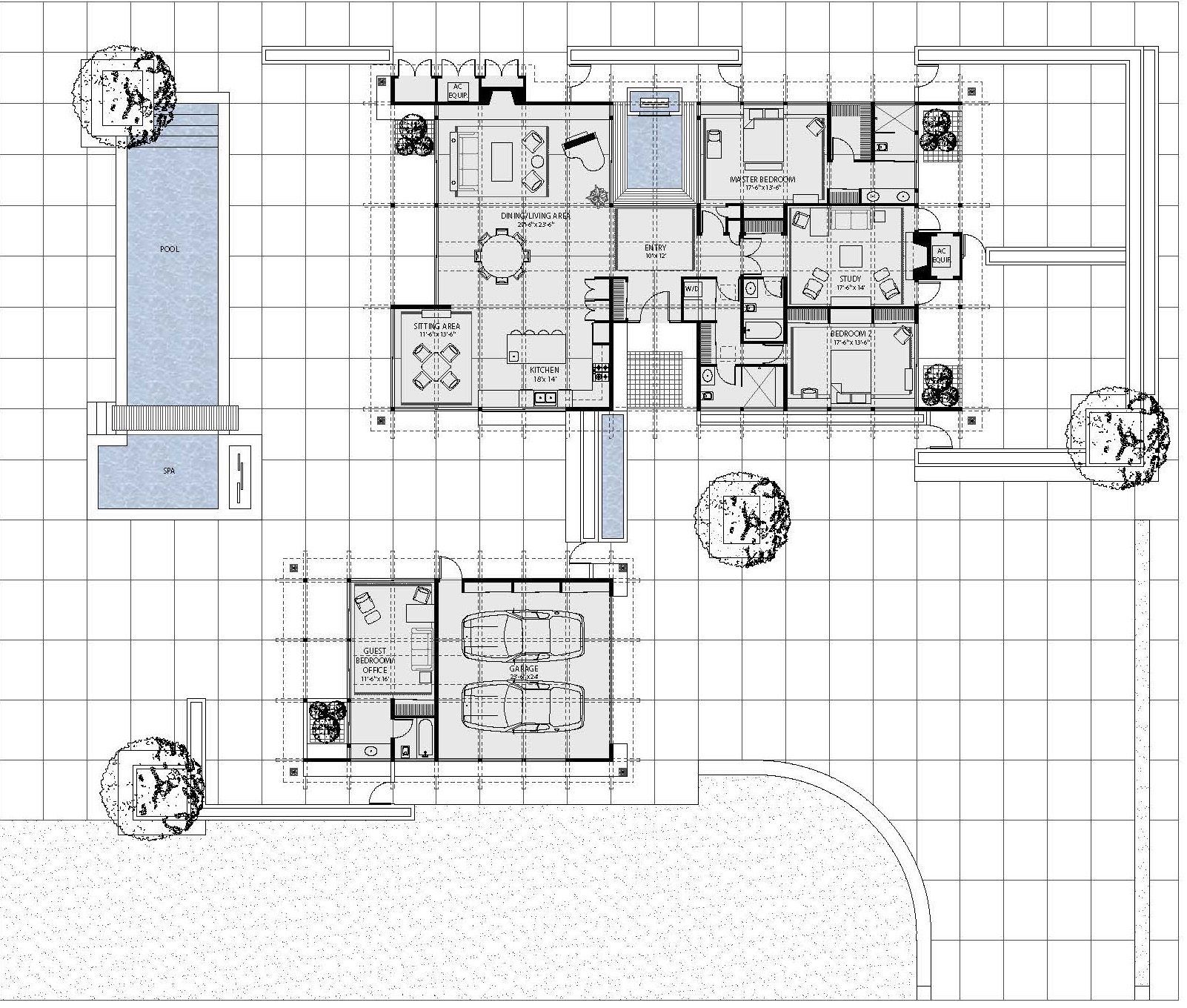 Ranch Style House Plan - 3 Beds 3.00 Baths 2787 Sq/Ft Plan #544-1 ...