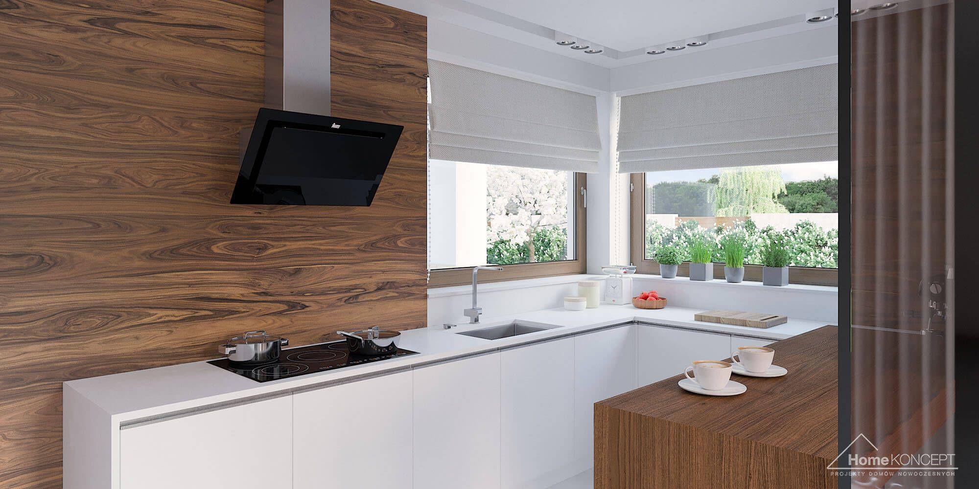 Projekt Domu Homekoncept 07 In 2019 Okno Narożne W Kuchni