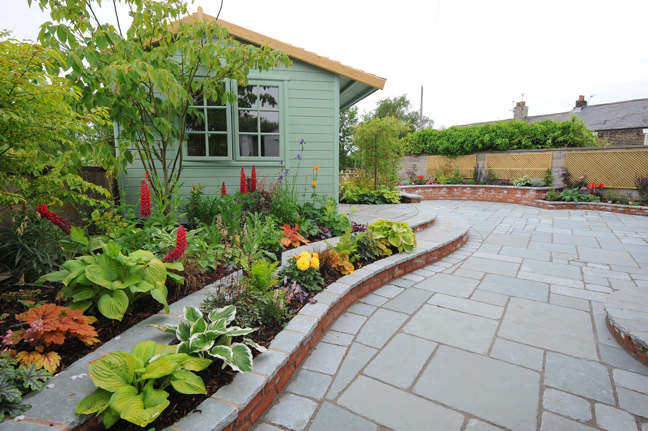 GAR12 - Newburgh, Wigan | Garden design, Design, Garden