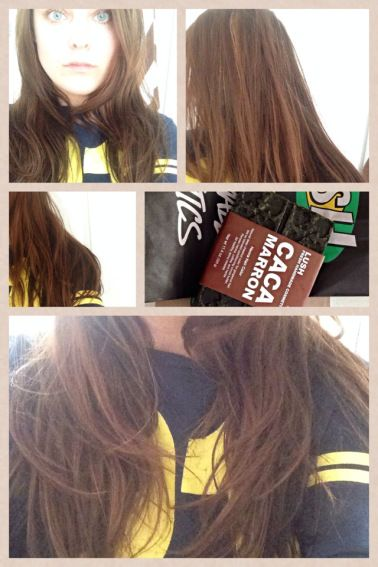 Review Tutorial Lush Caca Marron Henna Hair Dye Diy Before After Photos