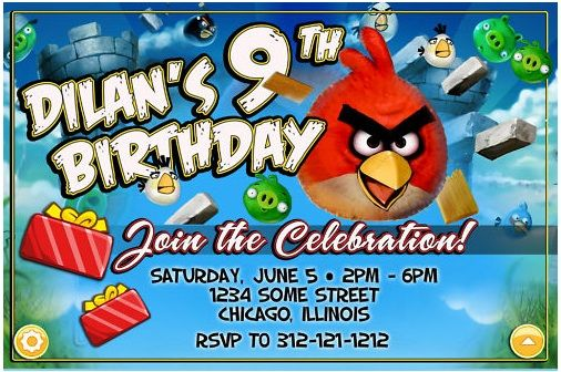 Birthday invite party ideas pinterest bird party angry birds angry bird party ideas great ideas for activities include golden egg hunt filmwisefo Choice Image