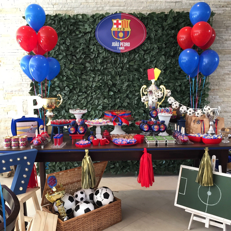 Mesa decorada para festa infantil 6965cddd79653