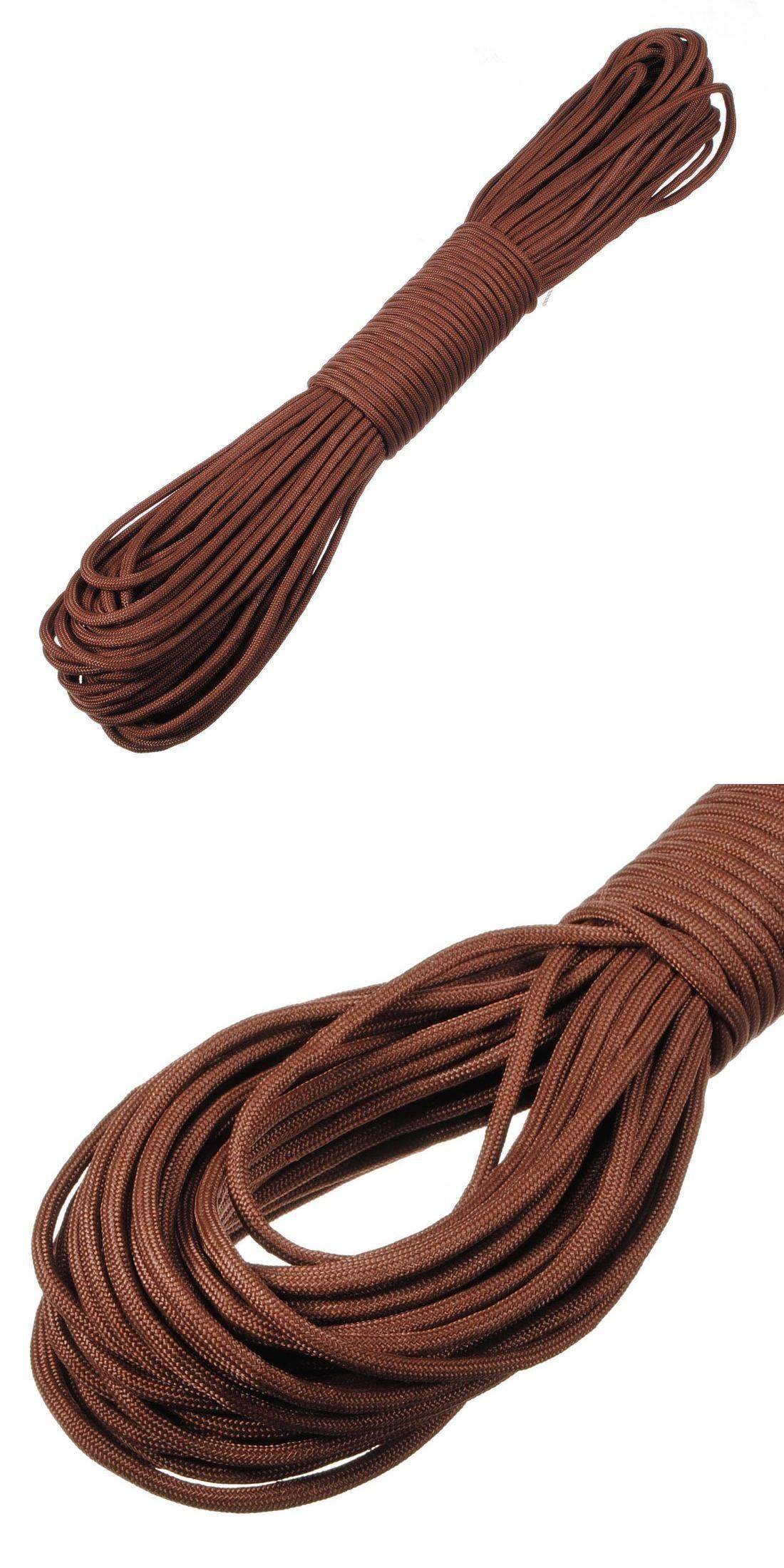Visit to Buy] Parachute Rope Paracord bracelet Nylon 550 30.5 m 100 ...