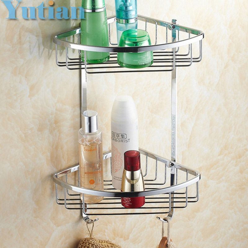 Free Shipping Wall Mounted chrome finish brass Bathroom Shower ...