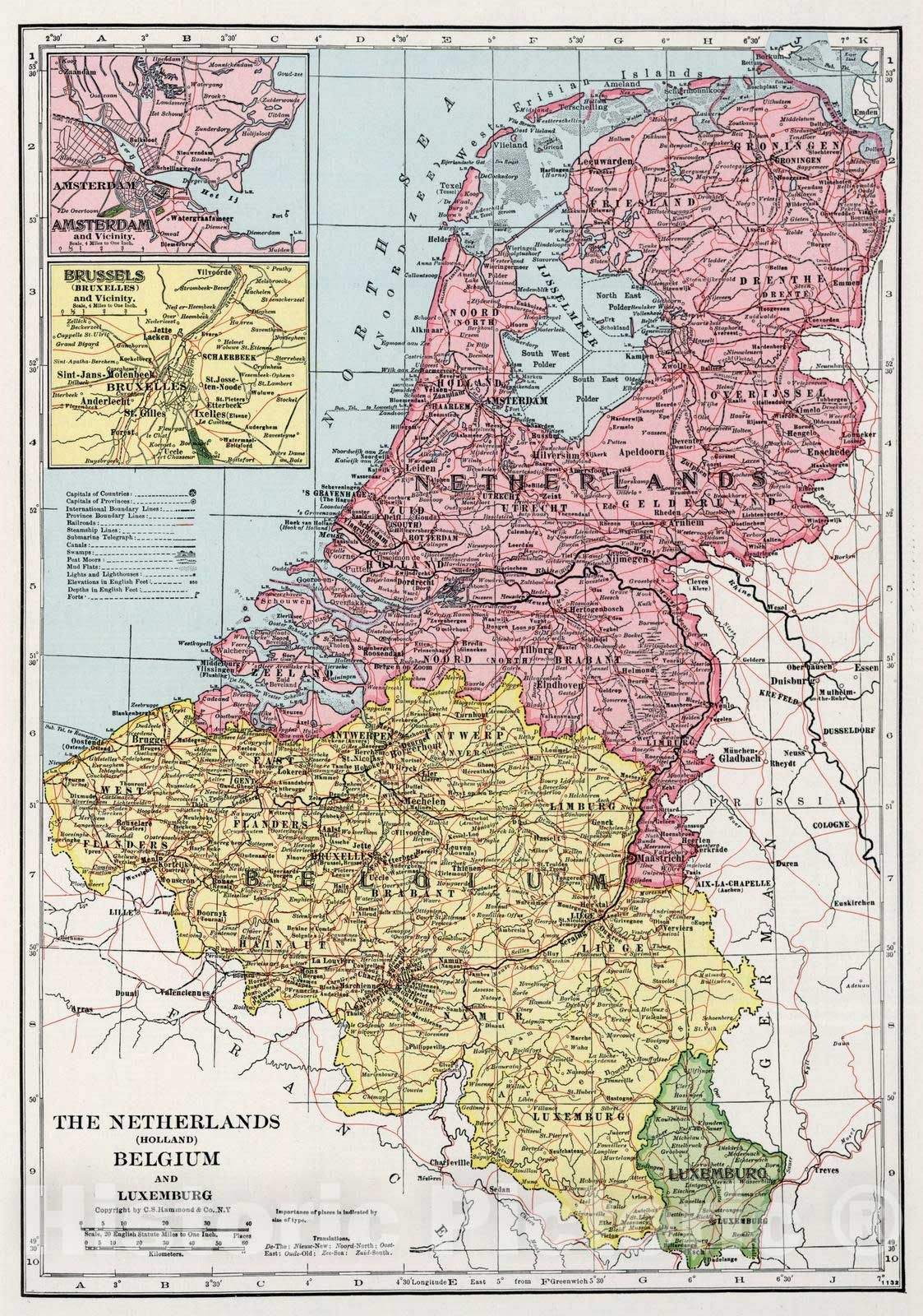 <p>1948 Netherlands, Belgium, and Luxemburg. </p>