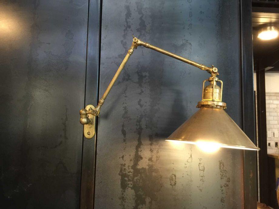 Hotel Emma ~ Brass Wall Sconce