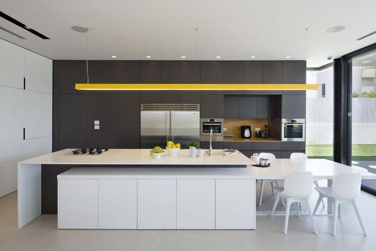 20 moderne Kücheninsel Designs - weisse kücheninsel design idee - bulthaup kuchen design deutsche kreativitat und prazise fertigung