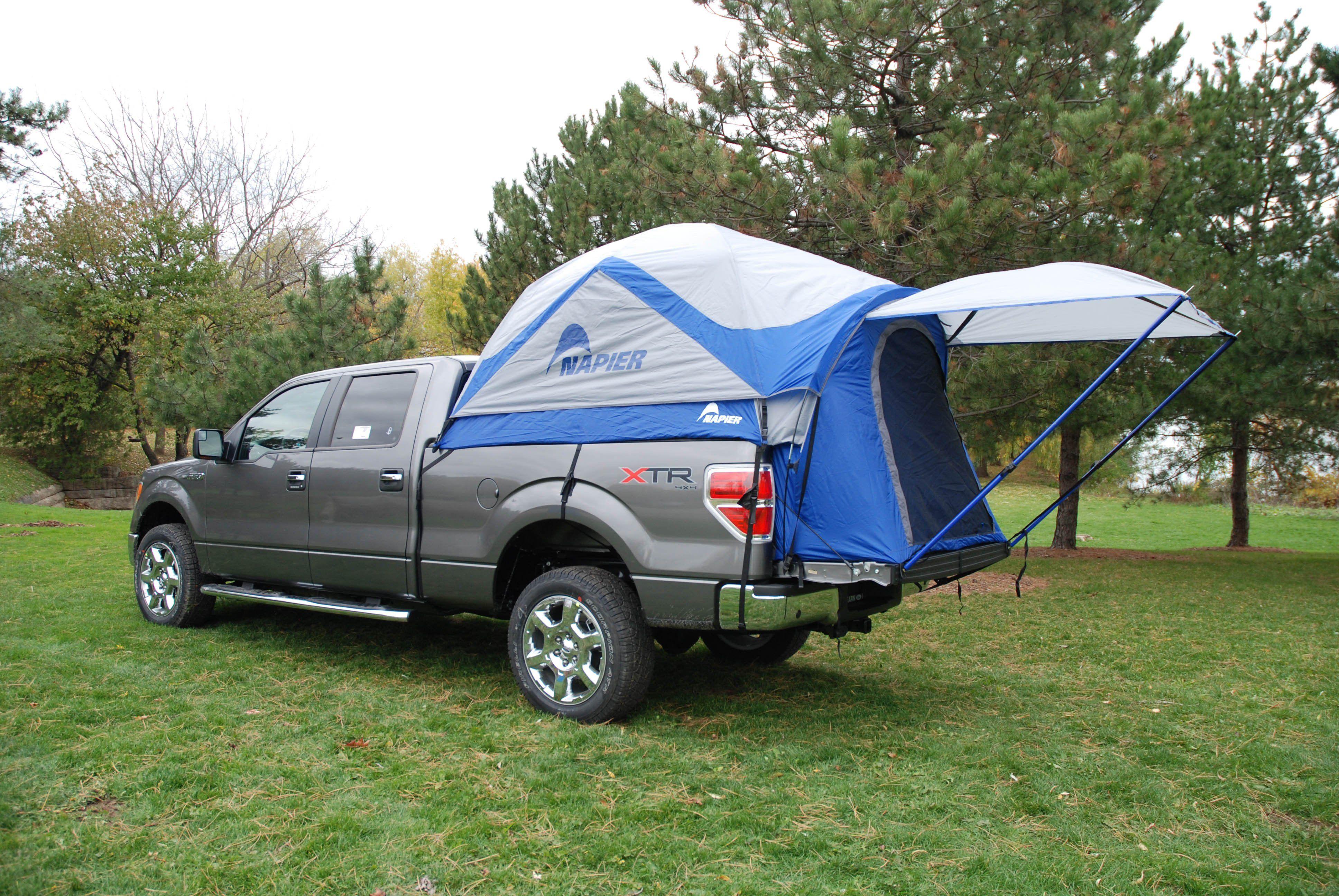Napier Sportz Truck Tent 57 Series fits 8 ft. bed Truck