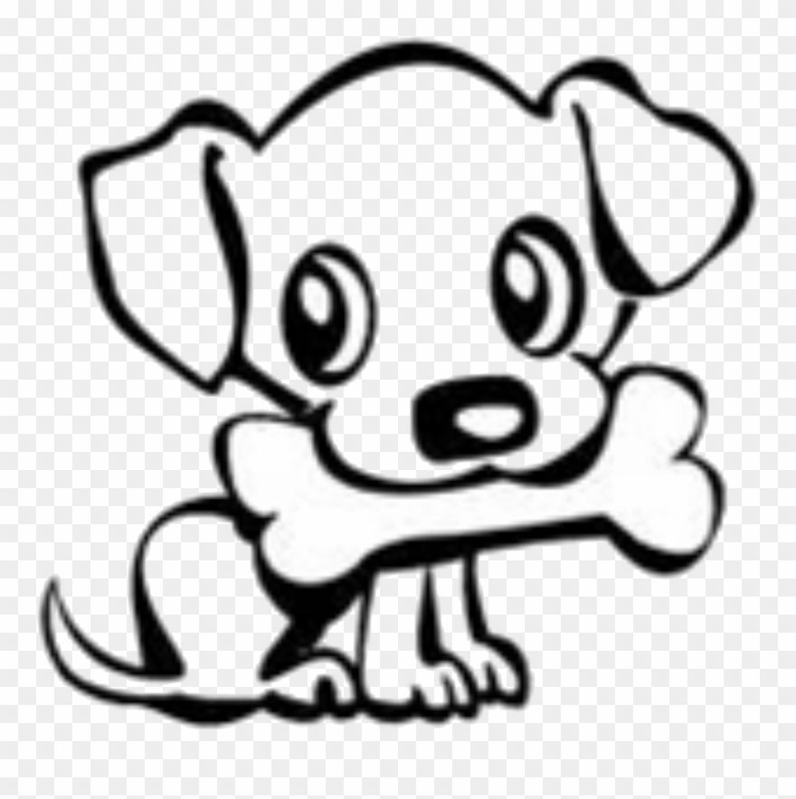 Dog Bone Drawings Group Banner Download Cute Dog Easy Drawing