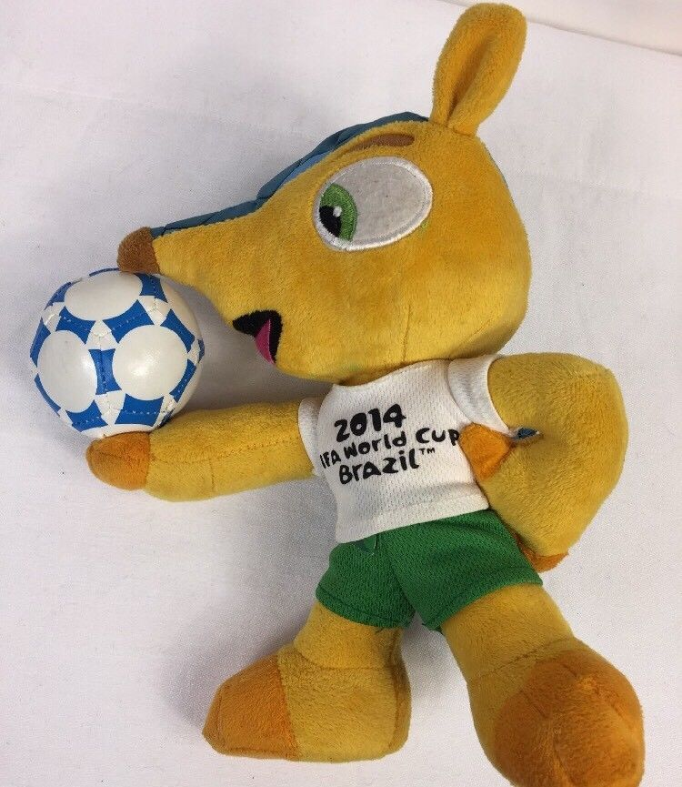 Fifa World Cup 2014 Brazil Mascot Official Licensed Brasil Plush Stuffed Toy 8 Fifamascot Plush Stuffed Animals Mascot Plush