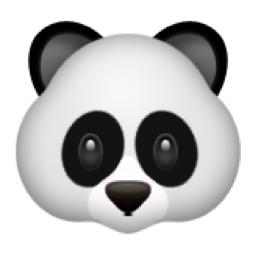 Panda Face Emoji U 1f43c Emoji Smiley Emoji Panda