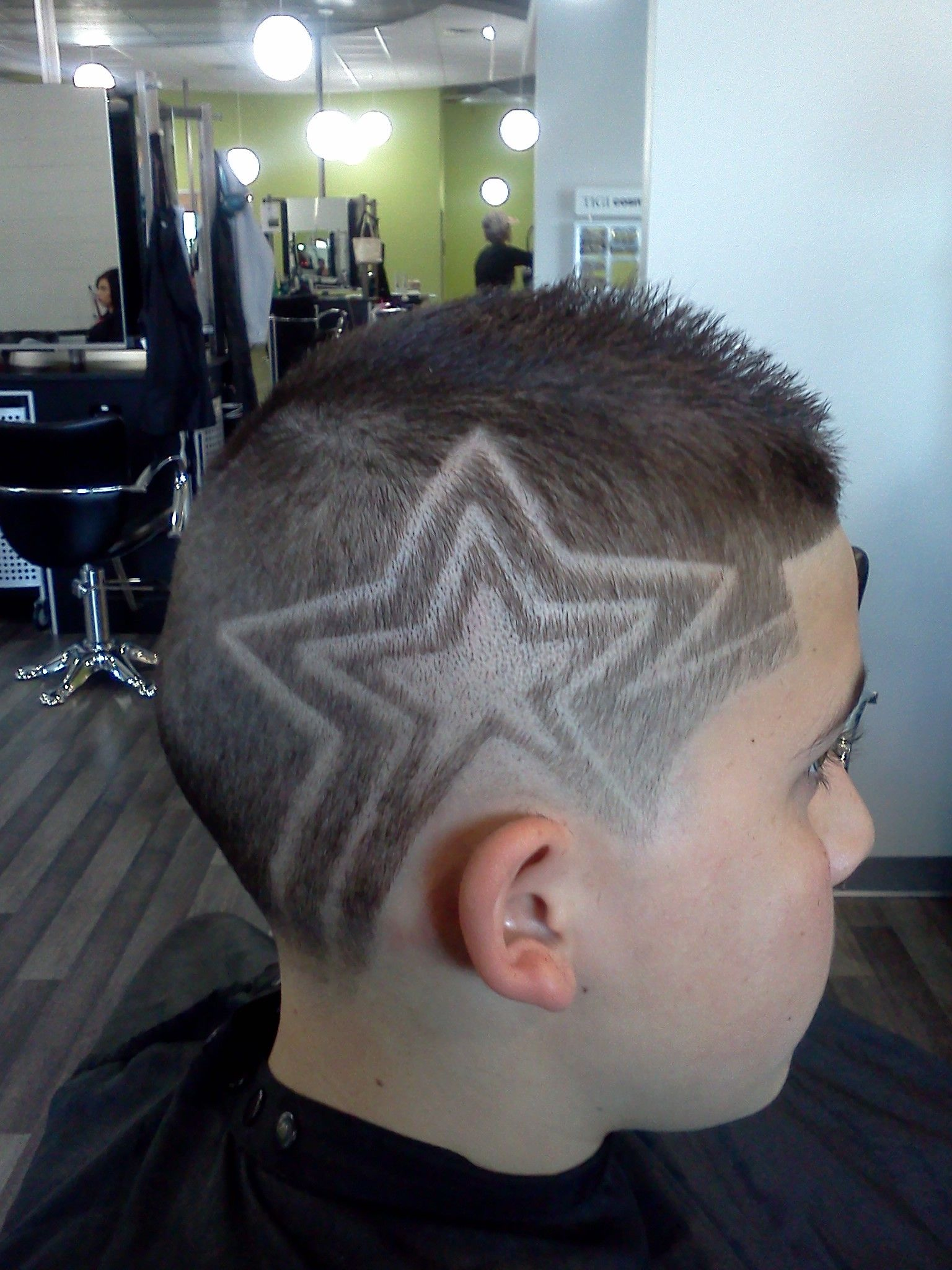Stars At Oliverfinley What An Amazing Job From Our Student Natalie Boys Haircuts Beauty School Cosmetology School