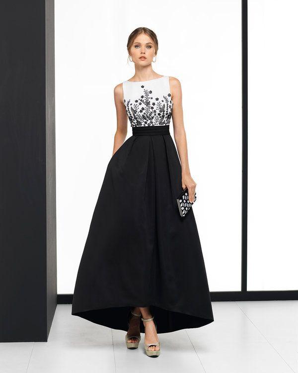 Vestidos de fiesta elegantes color negro