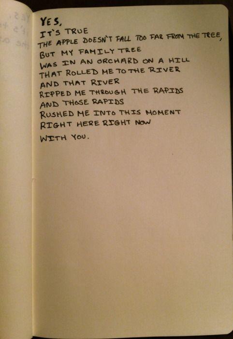 myfirstnameisjackson:    Human The Death Dance by Buddy Wakefield