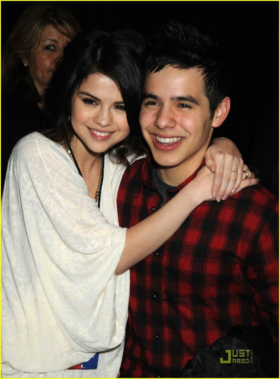 David archuleta dating selena gomez