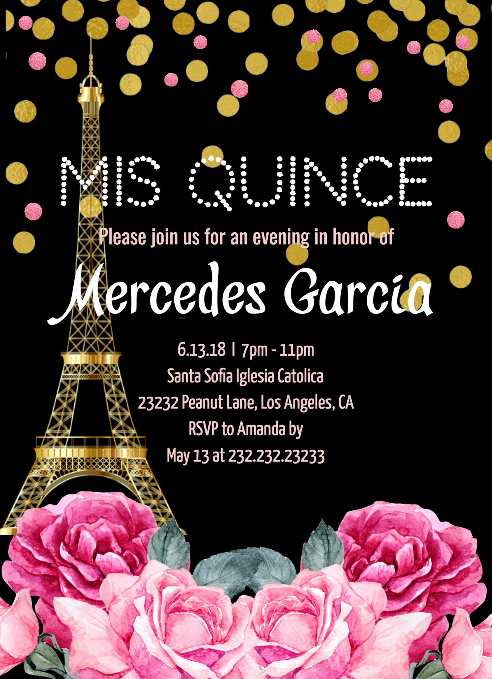 picture about Printable Quinceanera Invitations called Quinceañgeneration Invitation, English Spanish Quinceanera