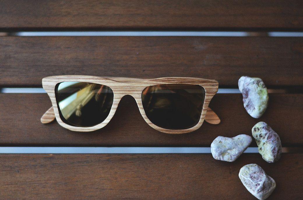Cmsunglasses I Wave I handmade wooden sunglasses